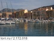 Порт в Ницце (2009 год). Стоковое фото, фотограф Филипп Яндашевский / Фотобанк Лори