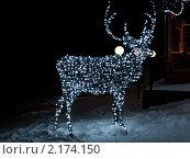 Купить «Новогодняя иллюминация», фото № 2174150, снято 2 января 2010 г. (c) Лагутин Сергей / Фотобанк Лори