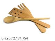 Купить «Деревянный кухонный инструмент», фото № 2174754, снято 31 октября 2010 г. (c) Антон Стариков / Фотобанк Лори