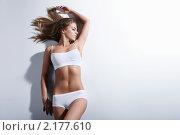 Купить «Привлекательная девушка», фото № 2177610, снято 8 ноября 2010 г. (c) Raev Denis / Фотобанк Лори