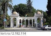 Ботанический сад. Город Сухум, Абхазия (2010 год). Редакционное фото, фотограф Виктор Филиппович Погонцев / Фотобанк Лори