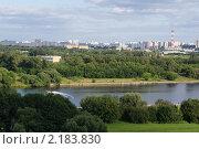 Москва-река (2009 год). Стоковое фото, фотограф Мария Медведева / Фотобанк Лори