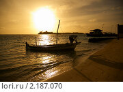 Мальдивский рыбак (2010 год). Стоковое фото, фотограф Сергеева Дарья / Фотобанк Лори