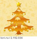 Купить «Новогодний декоративный фон», иллюстрация № 2192034 (c) Алексей Тельнов / Фотобанк Лори