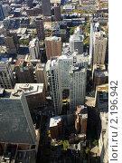 Вид небоскреба на Чикаго (2010 год). Стоковое фото, фотограф Дмитрий Ковырялов / Фотобанк Лори