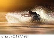 Купить «Катание на водных лыжах», фото № 2197198, снято 18 января 2018 г. (c) Константин Сутягин / Фотобанк Лори