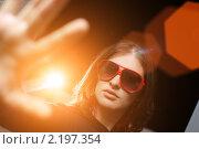 Купить «Девушка-знаменитость», фото № 2197354, снято 25 октября 2008 г. (c) Константин Сутягин / Фотобанк Лори