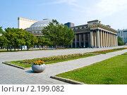 Купить «Новосибирский Государственный Академический Театр Оперы и Балета», фото № 2199082, снято 27 января 2020 г. (c) hpc hpc / Фотобанк Лори