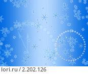 Купить «Новогодний фон», иллюстрация № 2202126 (c) Александр Черезов / Фотобанк Лори