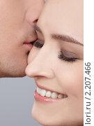 Купить «Поцелуй», фото № 2207466, снято 31 января 2010 г. (c) Serg Zastavkin / Фотобанк Лори