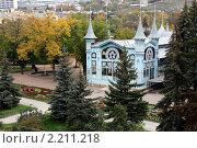 Купить «Пятигорск, Лермонтовская галерея (1901 г.)», фото № 2211218, снято 25 октября 2008 г. (c) Валерий Шилов / Фотобанк Лори