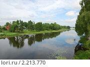 Некрасовское река Солоница. Стоковое фото, фотограф Владимир  Романов / Фотобанк Лори