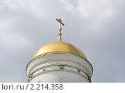 Купить «Купол Храма  Георгия Победоносца на Поклонной горе», эксклюзивное фото № 2214358, снято 19 июня 2010 г. (c) Алёшина Оксана / Фотобанк Лори