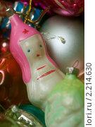 Купить «Новогодние елочные игрушки, 40-е годы 20 века», фото № 2214630, снято 1 декабря 2010 г. (c) Никита Жигелев / Фотобанк Лори