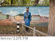 Полиция уже в Москве (2010 год). Редакционное фото, фотограф Виталий Калугин / Фотобанк Лори