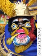Купить «Маска на традиционном карнавале в Потоси, Боливия», фото № 2215454, снято 13 марта 2010 г. (c) Валерий Шанин / Фотобанк Лори