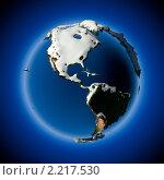 Купить «Земля», иллюстрация № 2217530 (c) Антон Балаж / Фотобанк Лори