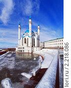 Купить «Мечеть Кул Шариф в Казанском кремле», фото № 2218086, снято 24 февраля 2008 г. (c) Михаил Марковский / Фотобанк Лори