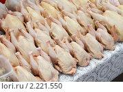 Купить «Москва, Черёмушкинский рынок», эксклюзивное фото № 2221550, снято 11 декабря 2010 г. (c) Дмитрий Неумоин / Фотобанк Лори