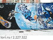 Купить «Граффити», фото № 2227322, снято 11 декабря 2010 г. (c) Parmenov Pavel / Фотобанк Лори