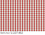 Купить «Орнамент из красных и черных ромбов на белом фоне», фото № 2227462, снято 15 ноября 2019 г. (c) Илюхина Наталья / Фотобанк Лори