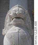 Купить «Статуя дракона», фото № 2231430, снято 14 ноября 2010 г. (c) Андрей Голубев / Фотобанк Лори