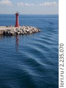 Купить «Действующий маяк в Японском море», фото № 2235070, снято 17 октября 2010 г. (c) Gagara / Фотобанк Лори