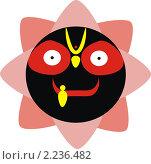 Купить «Кришна Джаганнатх», иллюстрация № 2236482 (c) Вячеслав Беляев / Фотобанк Лори