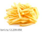 Купить «Картофель фри», фото № 2239050, снято 21 июня 2009 г. (c) Сергей Петерман / Фотобанк Лори