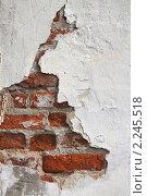 Старая стена. Стоковое фото, фотограф Галина Афанасьева / Фотобанк Лори