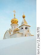 Купить «Храм Серафима Саровского», фото № 2246970, снято 27 декабря 2010 г. (c) Вячеслав Лукьянов / Фотобанк Лори