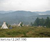 Купить «Индейские типпи», фото № 2247190, снято 11 августа 2009 г. (c) Светлана / Фотобанк Лори