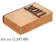 Купить «Книга 2011», фото № 2247486, снято 27 декабря 2010 г. (c) Игорь Веснинов / Фотобанк Лори