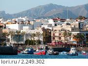 Купить «Маленькая гавань  в  Плая-де-Сан-Хуан на острове Тенерифе, Канарские острова», фото № 2249302, снято 9 декабря 2009 г. (c) Алексей Зарубин / Фотобанк Лори