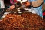 Прилавок с приготовленными для еды насекомыми, Бангкок, Таиланд, фото № 2250970, снято 17 декабря 2010 г. (c) Николай Винокуров / Фотобанк Лори