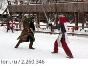 Купить «Рыцарский турнир в Туле», эксклюзивное фото № 2260346, снято 5 января 2011 г. (c) ФЕДЛОГ / Фотобанк Лори