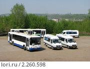 Купить «Автовокзал», фото № 2260598, снято 7 мая 2010 г. (c) Art Konovalov / Фотобанк Лори
