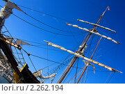 Купить «Яхта в порту», фото № 2262194, снято 19 августа 2019 г. (c) valentina vasilieva / Фотобанк Лори