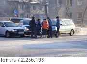 Купить «ДТП, кто виноват?», фото № 2266198, снято 4 января 2011 г. (c) Геннадий Соловьев / Фотобанк Лори