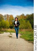 Купить «Бегущая девушка», фото № 2267130, снято 2 октября 2010 г. (c) Василий Вишневский / Фотобанк Лори