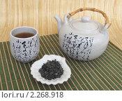 Купить «Чайный натюрморт», фото № 2268918, снято 10 января 2011 г. (c) Ирина Борсученко / Фотобанк Лори
