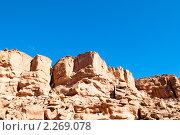 Купить «Цветной каньон. Синай. Египет», фото № 2269078, снято 8 января 2011 г. (c) Екатерина Овсянникова / Фотобанк Лори