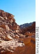 Купить «Цветной каньон. Синай. Египет», фото № 2269082, снято 8 января 2011 г. (c) Екатерина Овсянникова / Фотобанк Лори