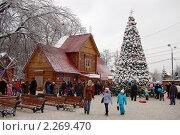 Усадьба Деда Мороза, фото № 2269470, снято 9 января 2011 г. (c) Елена Ильина / Фотобанк Лори