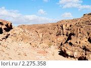 Купить «Цветной каньон. Синай. Египет», фото № 2275358, снято 8 января 2011 г. (c) Екатерина Овсянникова / Фотобанк Лори