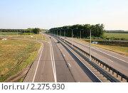 """Купить «Федеральная трасса М-4 """"Дон""""», эксклюзивное фото № 2275930, снято 19 июля 2010 г. (c) Дмитрий Неумоин / Фотобанк Лори"""