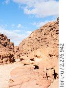 Купить «Цветной каньон. Синай. Египет», фото № 2276942, снято 8 января 2011 г. (c) Екатерина Овсянникова / Фотобанк Лори