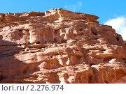 Купить «Цветной каньон. Синай. Египет», фото № 2276974, снято 8 января 2011 г. (c) Екатерина Овсянникова / Фотобанк Лори