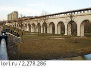 Купить «Ростокинский акведук. Москва», фото № 2278286, снято 18 июня 2006 г. (c) Охотникова Екатерина *Фототуристы* / Фотобанк Лори