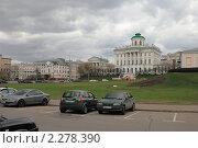 Дом Пашкова в Москве (2010 год). Редакционное фото, фотограф Александр Маркин / Фотобанк Лори